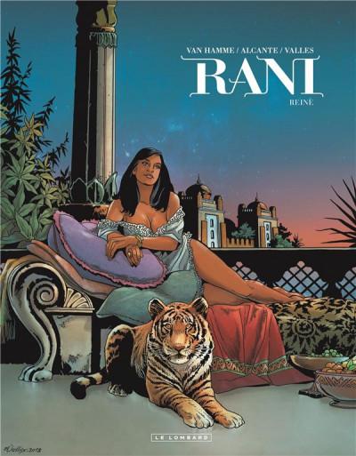 Couverture Rani, tome 7 : Reine