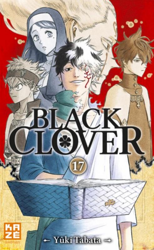 Couverture Black Clover, tome 17