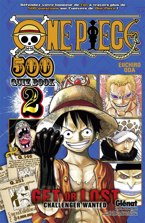 Couverture One piece : Quiz book, tome 2