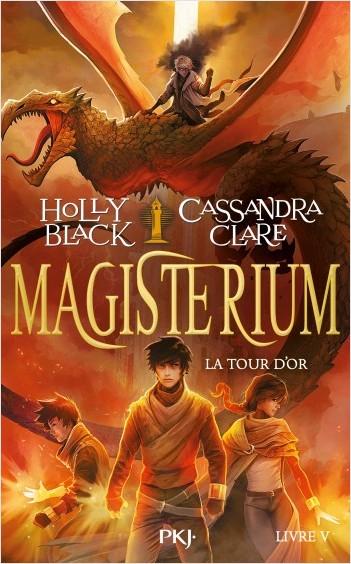 Couverture Magisterium, tome 5 : La tour d'or