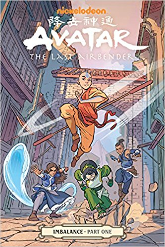 Couverture Avatar: The Last Airbender: Imbalance, book 1