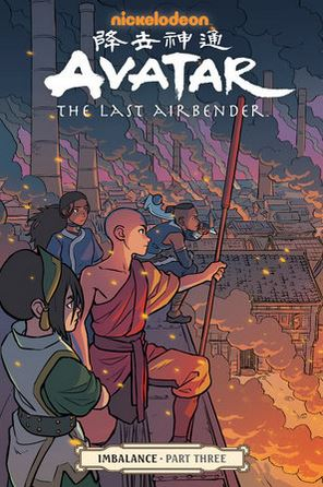 Couverture Avatar: The Last Airbender: Imbalance, book 3