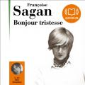 Couverture Bonjour tristesse Editions Audiolib 2008