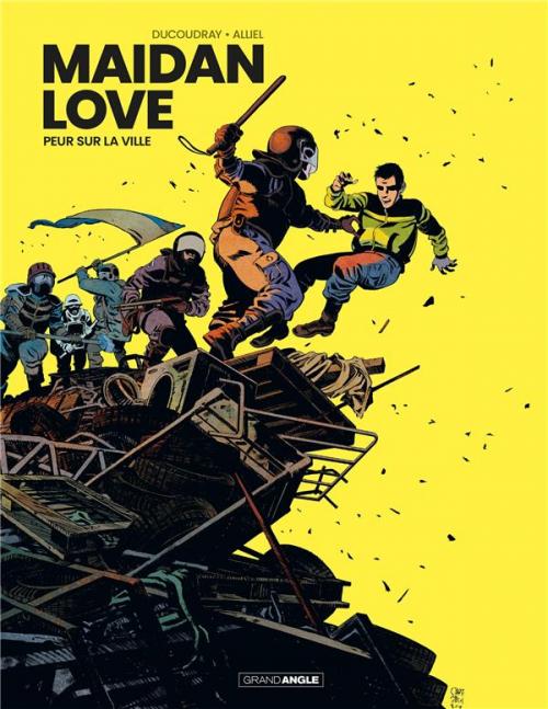 Couverture Maïdan Love, tome 1 : Olena