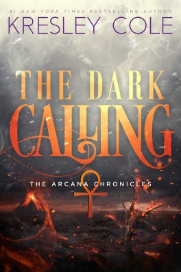 Couverture The Arcana Chronicles, book 5: The Dark Calling