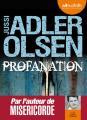 Couverture Département V, tome 2 : Profanation Editions Audiolib 2014