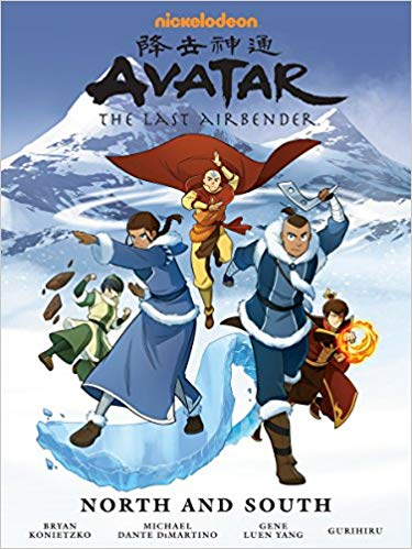 Couverture Avatar: The last Airbender: North and South