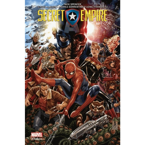 Couverture Secret empire
