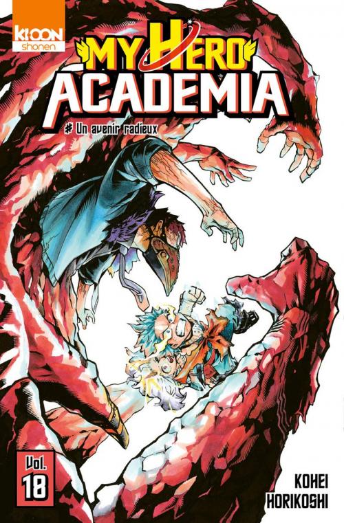 Couverture My Hero Academia, tome 18 : Un avenir radieux