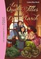 Couverture Les quatre filles du dr March / Les quatre filles du docteur March, abrégé Editions Hachette (Bibliothèque Rose) 2012