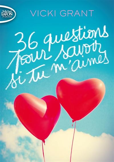 Couverture 36 questions pour savoir si tu m'aimes