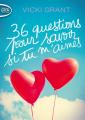 Couverture 36 questions pour savoir si tu m'aimes Editions Michel Lafon (Poche) 2019