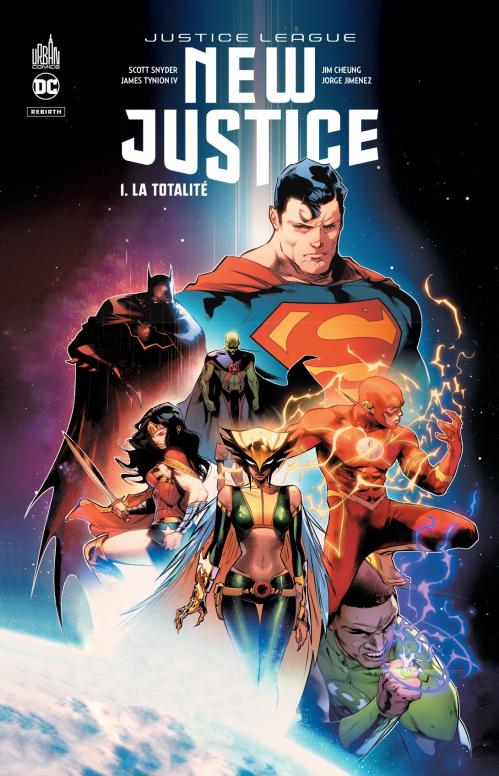 Couverture Justice League : New Justice, tome 1 : La Totalité
