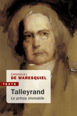 Couverture Talleyrand : Le prince immobile