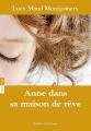 Couverture Anne dans sa maison de rêve Editions Québec Amérique 2018