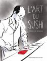 Couverture L'Art du sushi  Editions Delcourt 2019