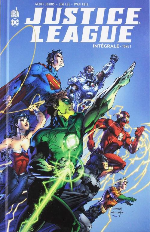 Couverture Justice League (Renaissance), intégrale, tome 1