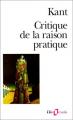 Couverture Critique de la raison pratique Editions Folio  (Essais) 1989
