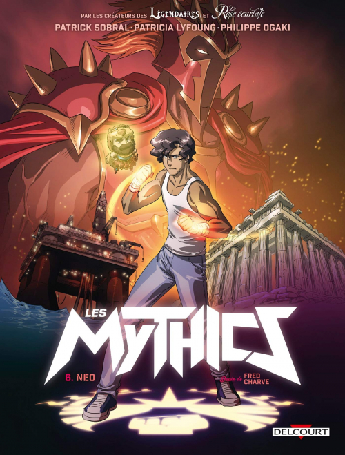 Couverture Les Mythics, tome 6 : Neo