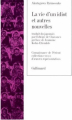 Couverture La vie d'un idiot Editions Gallimard  (Connaissance de l'orient) 1987
