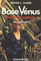 Couverture Base Vénus, tome 1 : Point de Rupture Editions J'ai Lu (Science-fiction) 1989