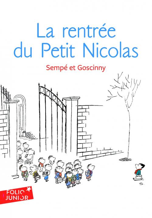 Couverture La rentrée du Petit Nicolas