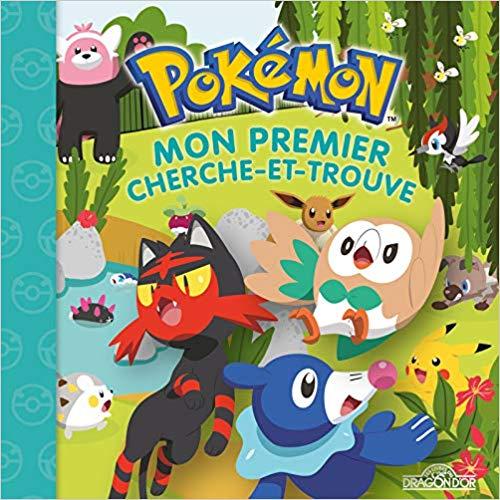 Couverture Pokémon : Mon premier cherche-et-trouve