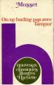 Couverture On ne badine pas avec l'amour Editions Hachette 1976