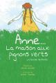 Couverture Anne… La maison aux pignons verts (BD) Editions Scholastic 2019