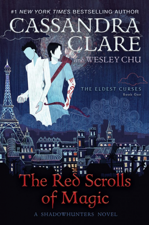 Couverture The Eldest Curses, book 1: The Red Scrolls of Magic