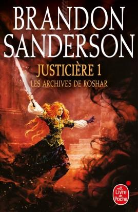 Couverture Les archives de Roshar, tome 5 : Justicière, partie 1