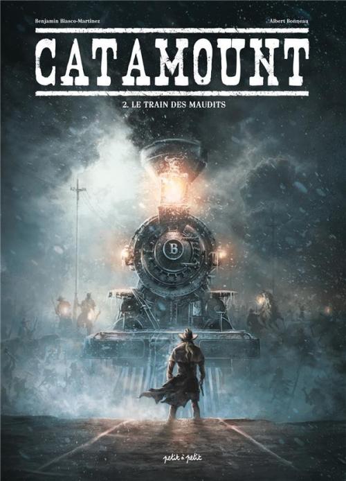 Couverture Catamount, tome 2 : Le Train des Maudits