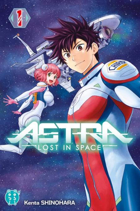 Couverture Astra, lost in space, tome 1