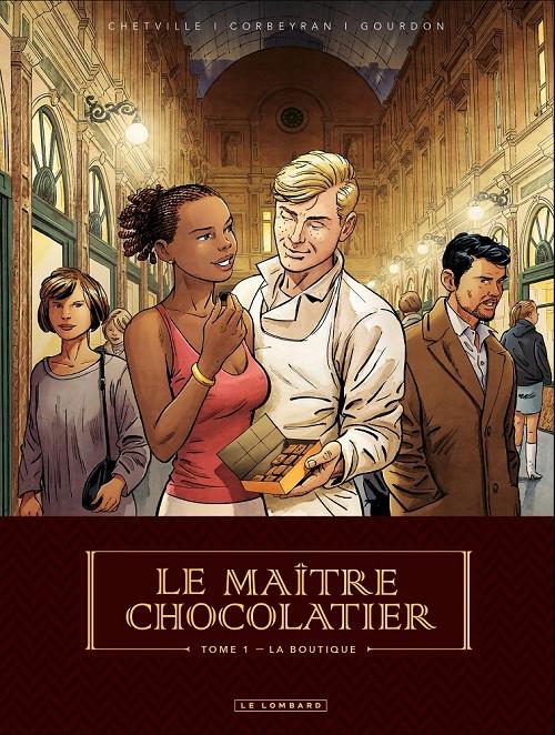 Couverture Le maître chocolatier, tome 1 : La Boutique