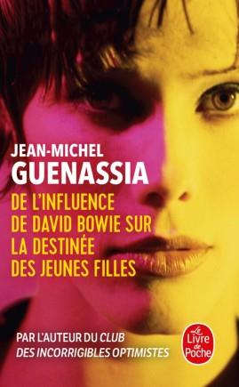 Couverture De l'influence de David Bowie sur la destinée des jeunes filles
