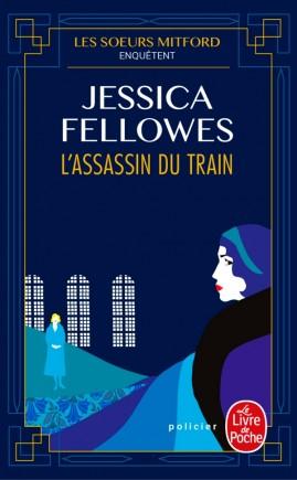 Couverture Les soeurs Mitford enquêtent, tome 1 : L'assassin du train