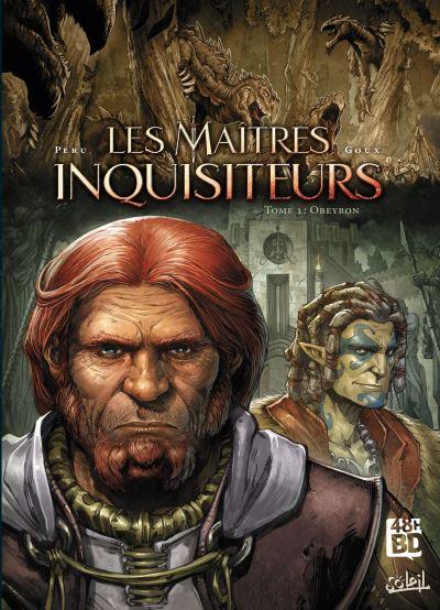 Couverture Les maîtres inquisiteurs, tome 01 : Obeyron