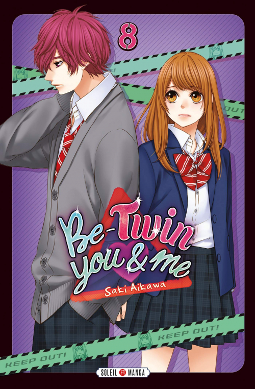 Couverture Be-twin you & me, tome 08