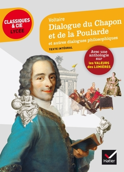 Couverture Dialogue du Chapon et de la Poularde et autres dialogues philosophiques