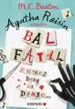 Couverture Agatha Raisin enquête, tome 15 : Bal fatal Editions Albin Michel 2019