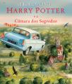 Couverture Harry Potter, illustré, tome 2 : Harry Potter et la chambre des secrets Editions Presença 2016