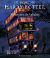 Couverture Harry Potter, illustrée, tome 3 : Harry Potter et le prisonnier d'Azkaban Editions Presença 2017