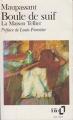 Couverture Boule De Suif, La Maison Tellier Editions Folio  (Classique) 1992