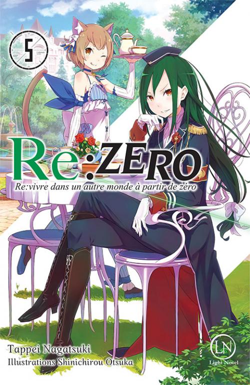 Couverture Re:zero : Re:vivre dans un autre monde à partir de zéro, tome 5