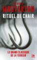 Couverture Rituel de chair Editions Bragelonne (Terreur) 2019