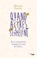 Couverture Quand les astres s'emmêlent Editions Cherche Midi 2019