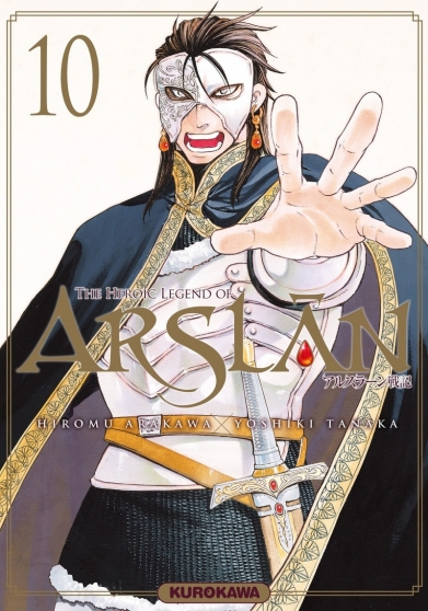 Couverture The Heroic Legend of Arslân, tome 10