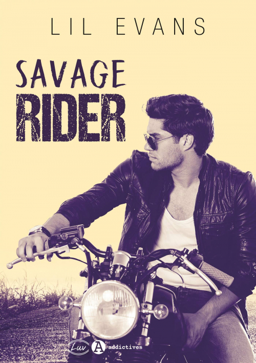 Couverture Savage Rider