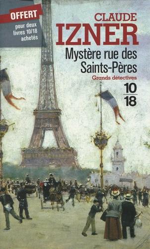 Couverture Mystère Rue Des Saints-Pères