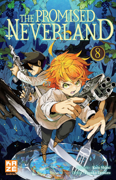 Couverture The Promised Neverland, tome 08